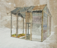 2008, Bleistift/Aquarell, 30x40cm